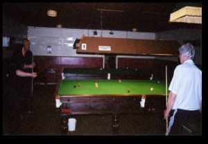 Old Wulfrunians snooker room